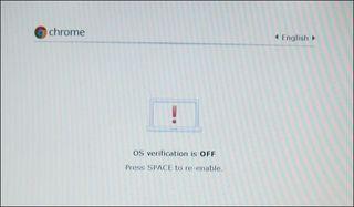 Chromeos-verification-is-off